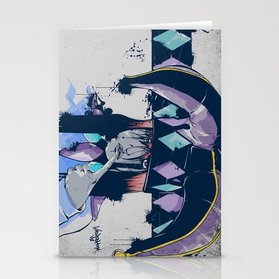 Jester Stationery Card