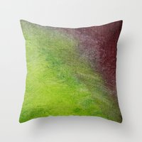 Fade In Throw Pillow