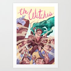 The Witches Art Print
