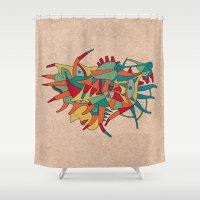 - Horse Man Spider - Shower Curtain