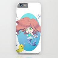 Cute Ariel  iPhone 6 Slim Case