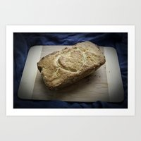 love bread Art Print
