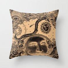 Baron von Munchausen Throw Pillow