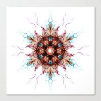 Snowcrystal 1 Canvas Print