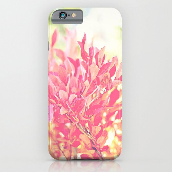 Burst of Red iPhone & iPod Case
