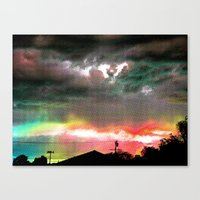 Sky Of Too Many Colors Canvas Print