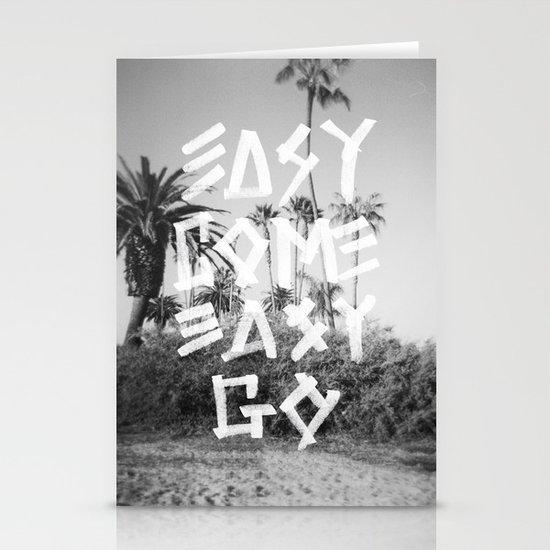 EASY GO Stationery Card