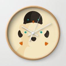 Snow Buddies Wall Clock