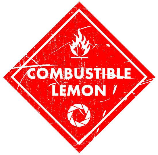 Combustible Lemon Art Print