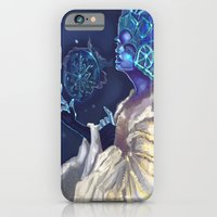 Snow Queen And A SnowFla… iPhone 6 Slim Case