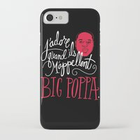 french iPhone & iPod Cases featuring French Poppa by Chris Piascik