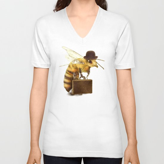 Worker Bee V-neck T-shirt