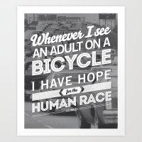 Hope For The Human Race Art Print