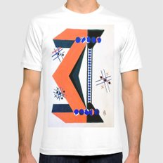 Tick Tac Toe Mens Fitted Tee SMALL White