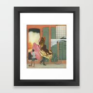 Framed Art Print featuring Untitled  by Jesse Treece