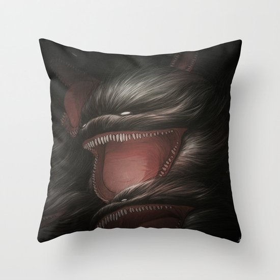 BallWars IV. Throw Pillow