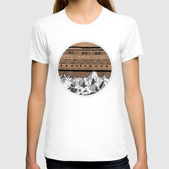 Aztec Mountains T-shirt