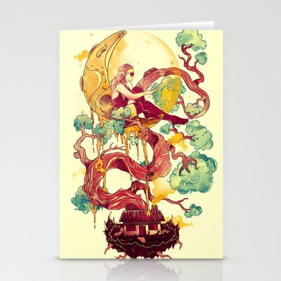 Dreams Astray Stationery Card
