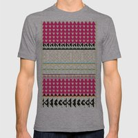 Mesh Mens Fitted Tee Athletic Grey SMALL