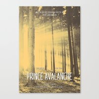 Prince Avalanche - Movie Poster Canvas Print
