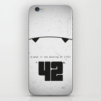The Hitchhiker's Guide to the Galaxy iPhone & iPod Skin