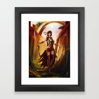 For Chris Framed Art Print