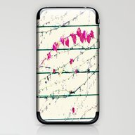 iPhone & iPod Skin featuring Autumn Leave Necklace by Die Farbenfluesterin