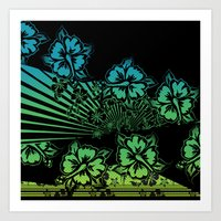 Hawaii Five-O Dark Art Print