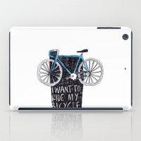 My Bicycle iPad Case