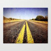 1000 miles to no where  Canvas Print