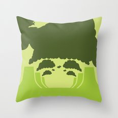 WTF? Super! Throw Pillow