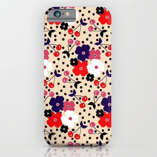 Cream Cherry iPhone & iPod Case