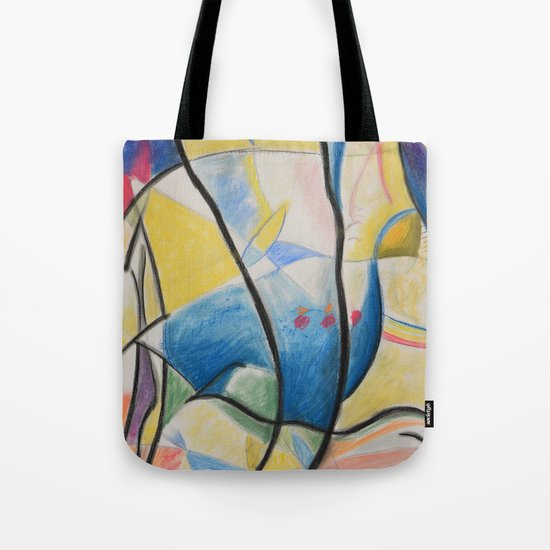 Figure Dance Tote Bag