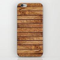 PLANKS iPhone & iPod Skin