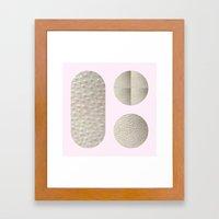 SKINPRINT Framed Art Print