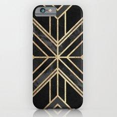 Geo Black Marble Dream iPhone 6 Slim Case