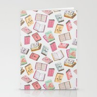 books Stationery Cards featuring Books by Abby Galloway