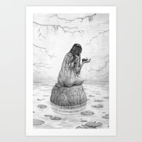 Nymph Art Print