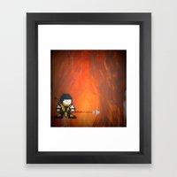 Scorpion (Mortal Kombat) Framed Art Print