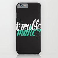iPhone & iPod Case featuring Troublemaker by Koning