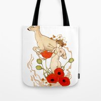 Through the Heart Tote Bag