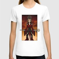 Priestess Womens Fitted Tee White SMALL