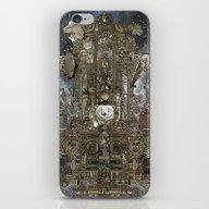 Steampunk Space Transpor… iPhone & iPod Skin