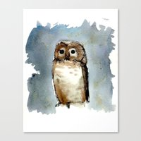 Little, Brown Canvas Print