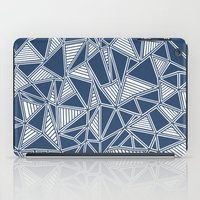 Abstract Outline Lines N… iPad Case