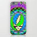 Grateful Dead #9 Optical Illusion Psychedelic Design iPhone & iPod Case