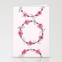 cherry blossom Stationery Cards