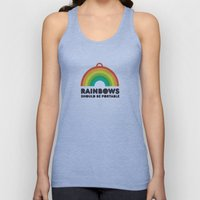 Rainbows should be portable. Unisex Tank Top