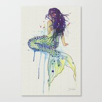 Mermaid I Canvas Print
