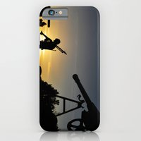 iPhone & iPod Case featuring End of the Day by WHIT MORE